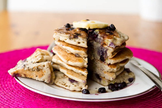vegan gluten free vanilla blueberry buckwheat pancakes what easter